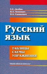 Русский язык: таблицы, схемы, упражнения